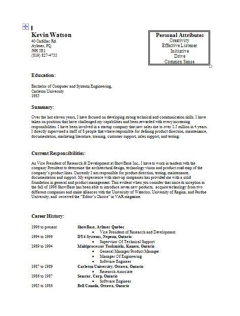 Guerrilla Job Hunting Job Hunting Case Study Kevin Watson The