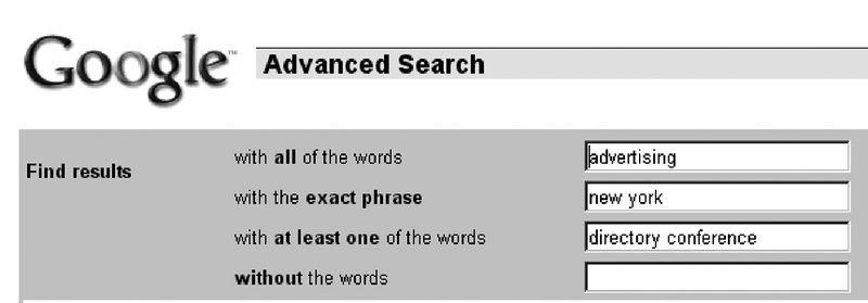 Figure 4.1 c0401Google Advanced - advertising