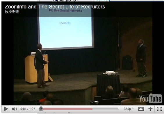 Zoominfo and the secret life of recruiters