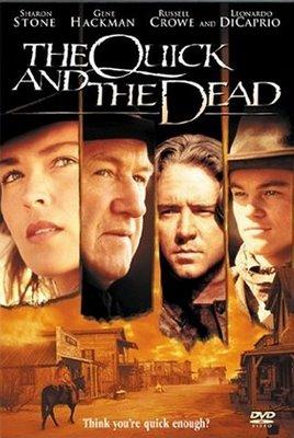 Постер Быстрый и мертвый / The Quick and the Dead (Сэм Рэйми / Sam Raimi) [1995, боевик, приключения, вестерн, HDTVRip] DUB